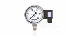Pressure gauges with ouput signal