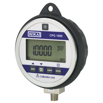 Precision digital pressure gauge now with ATEX approval and data logger