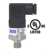 "New ""cULus"" test mark for WIKA A-10 pressure transmitter"